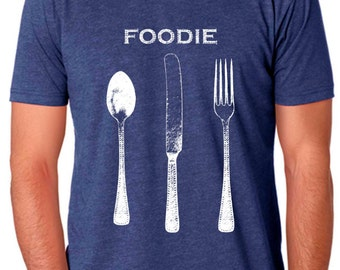 foodie gifts - food gift - chef gift - chef tshirt - cooking gifts - baking shirt - baking gifts - foodie shirt - cook gift-FOODIE-crew neck