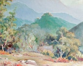Original Oil Painting by California Plein Air Artist Margaret Clapp
