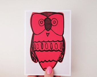 Lil Hoot Greeting Card