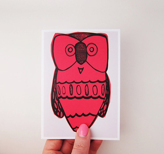 Lil Hoot Greeting Card