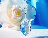 Rear View Mirror Charm Swarovski Crystal Suncatcher Car Accessories Hanging Crystal