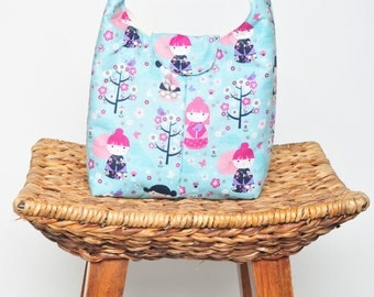 Lunch Bag Insulated - Kokeshi