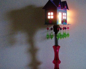 Tiny House Lamp MADE TO ORDER