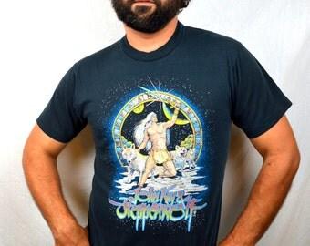 RARE Vintage 1990 John Kay and Steppenwolf Tee Shirt - Rise and Shine Tour