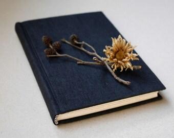 Little Black Book - hardback sketchbook / journal (fountain pen friendly)