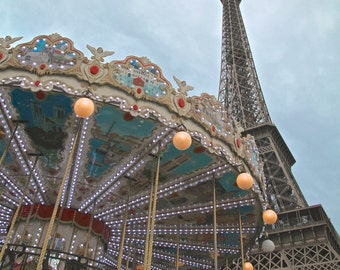 la tour eiffel, paris - digital print