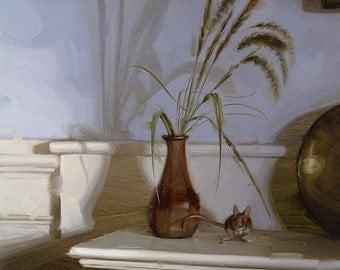Fallen Seeds - Print of Original Oil Painting