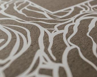 Ketubah Giclée Print by Jennifer Raichman - Roses Frame