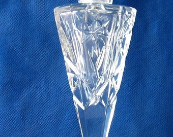 Crystal Glass Salt Shaker Cut Glass