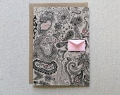 Love Doodles Valentine's Day Card - Tiny Envelopes Card