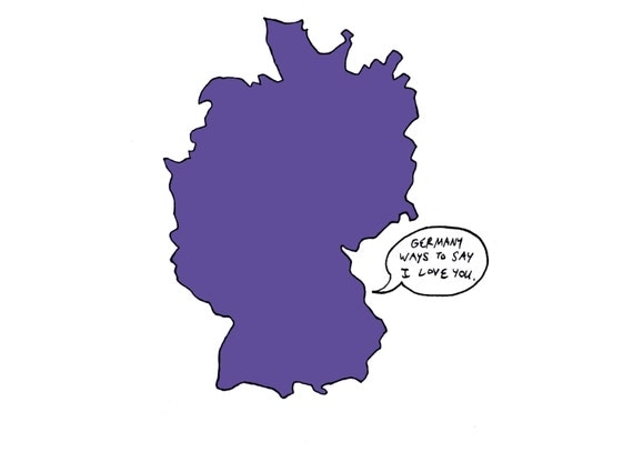 Germany ways to say I love you