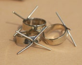Nickel Silver Blank Adjustable Ring Claw Setting 2nd For Natural Stones or Whatever