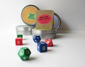 Math game, travel game, dice game for all ages. Fun educational game for math practice. Math gift, math teacher gift.
