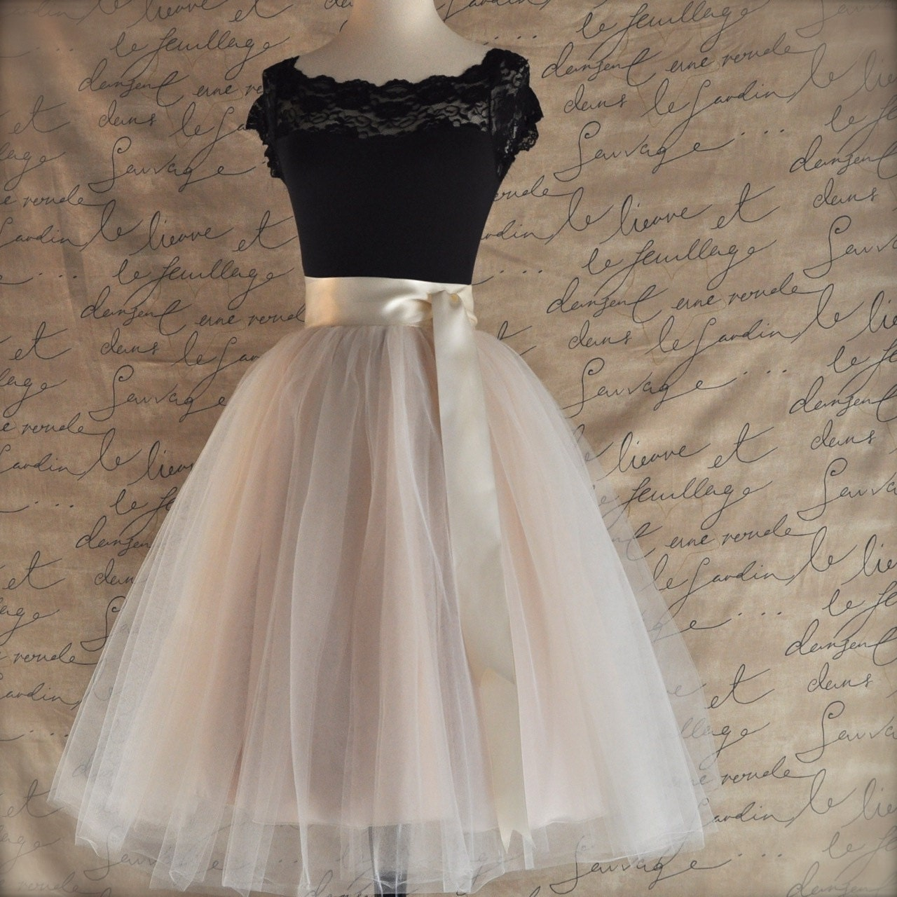 Innovative Items Similar To Tulle Tutu Skirt Women39s Ivory Lined Tutu