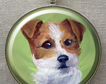 Parson Russell Terrier Keychain ~ Parson Russell Owner ~ Trending Items ~  Gifts for Dad   ~ Dog Keyring