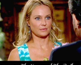 Long Earrings , Gold Earrings , Chandelier Earrings , As Seen On TV The Young and The Restless