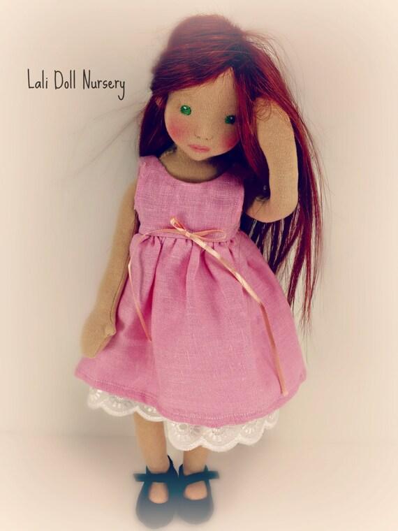 1 2 yard doll skin fabric cotton interlock waldorf dolls and - Material waldorf ...