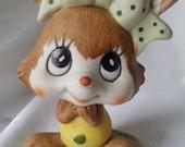 Vintage Rabbit Figurine