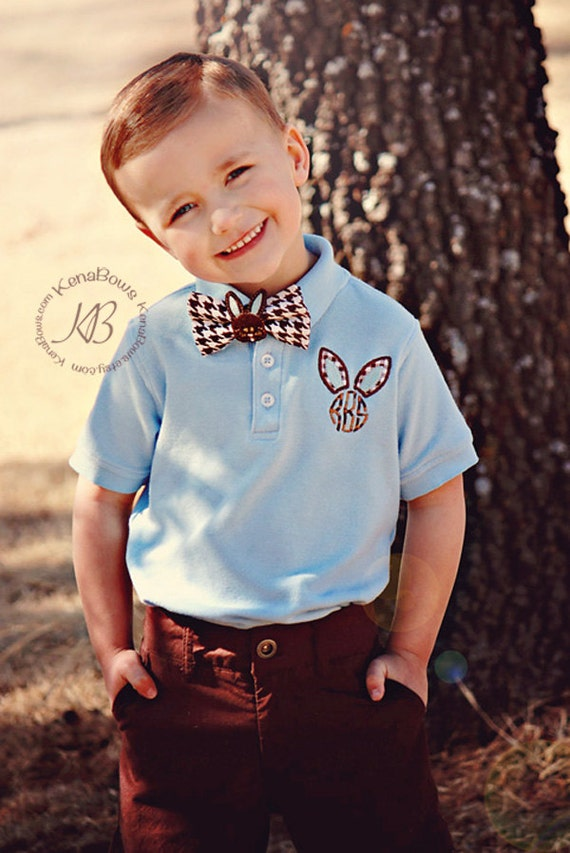 Easter Monogram Polo Shirt Toddler Boy Polo Youth By Kenabows