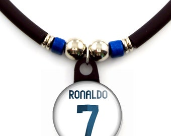 Cristiano Ronaldo Real Madrid Jersey Necklace