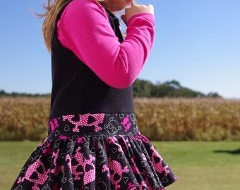 Tilly Dress  - PDF pattern & tutorial sizes 6m-5yrs / 6-12yrs - Girl - By LittleKiwis Closet