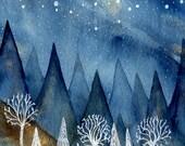 Fine Art Print-The Blue Hour