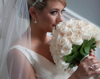Bridal Headband - Wedding Tiara - Crystals and Rhinestones - Made to Order