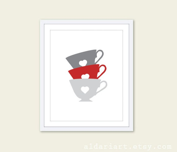 https://www.etsy.com/listing/153011514/tea-cups-art-print-kitchen-wall-art-grey
