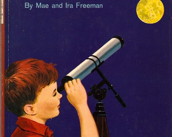 You Will Go To the Moon Mae & Ira Freeman ca. 1965 HC with Dust Jacket