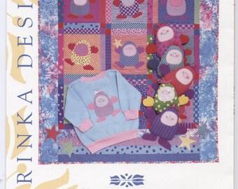 Jelly Bean Jones Baby Quilt Pattern - UNCUT - Q005