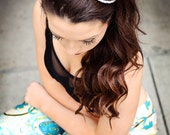 Audrey Headband black and clear
