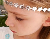 RESERVED - Star Headband Silver or Gold