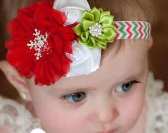 Christmas  baby Headband, baby headbands,Baby Headband,newborn headband,Christmas Hair Bow, Christmas Headband, Christmas Headbands.