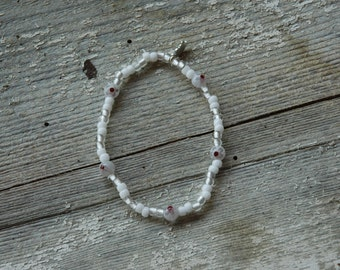 Polka Dot Single Loop Bracelet - Proceeds Benefit Cancer Research