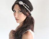 bridal headband, bridal headband ,bridal headband ,Wedding tiara, Bridal headband, headband, wedding accessory - Le Hiver - by DeLoop