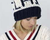 The Chatham CUSTOM NAME knit hat