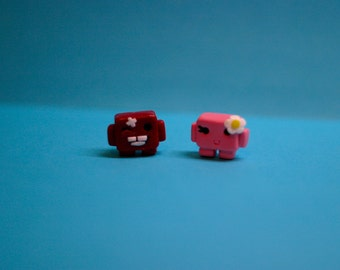 Super Meat Boy Figure (Made to order)