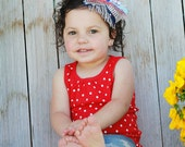 Firecracker Stash Bow- 4th of July- Indepence Day Headband