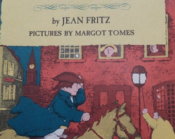 And Then What Happened, Paul Revere? By Jean Fritz - 1973 - Weekly Reader Children's Book Club