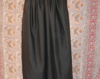 Custom all cotton skirt in your choice of several colors.