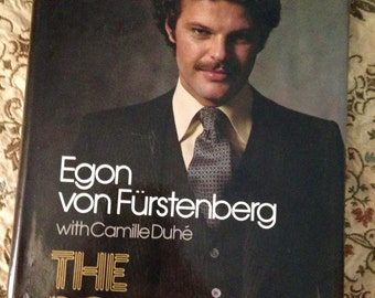 Vintage Mens Style Book The Power Look by Prince Egon Von Furstenberg 1978 illustrated