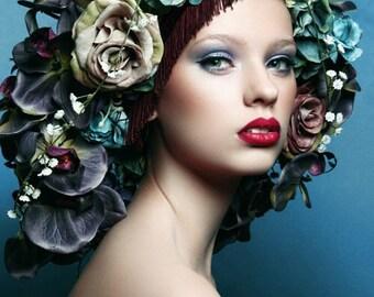 Made to Order-Fashion Flower Headdress