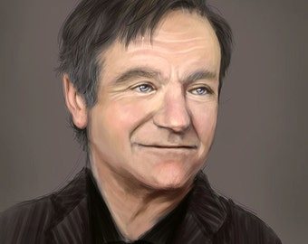 Custom Digital Portrait - Realistic Painting , Printable Digital File