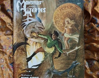 Monsters And Heroes Magazine No 3 Issued 1968 Captain Video King Kong Asgard Tarzan Wrightson Altron Boy Sci Fi Horror