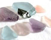 Lavender, Purple, Pink, Rare Seaglass, Jewelry Grade B, Craft Supplies, Mermaids Tears, Beach Finds