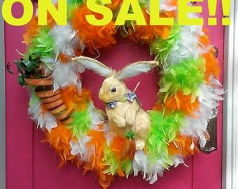 I Love Carrots Easter Wreath