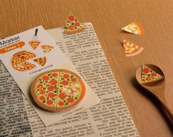 Pizza Sticky Notes / Removable Adhesive Paper