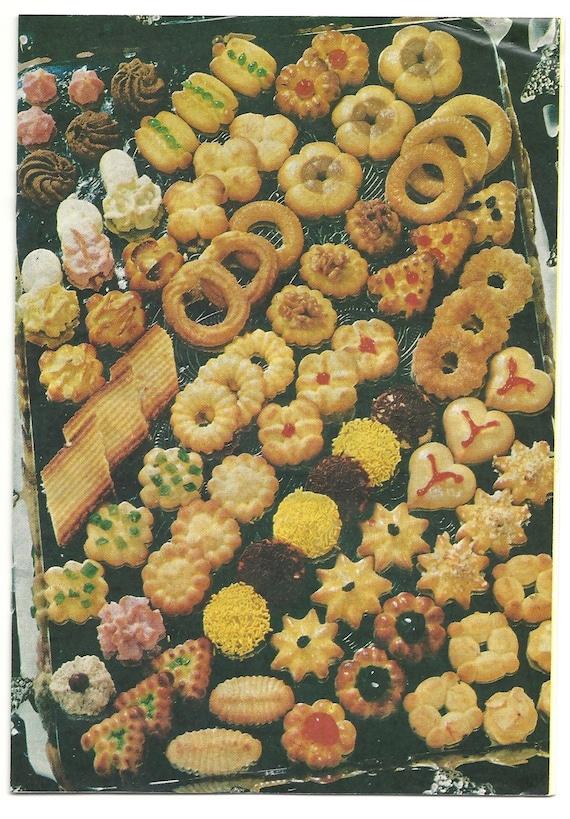 cookie press manual recipes spritz instruction book for sawa