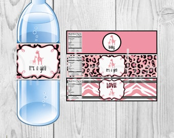 Popular items for baby shower water on Etsy