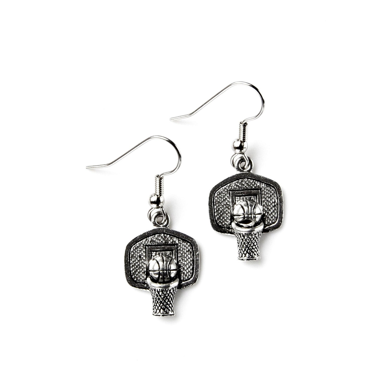basketball hoop earrings accessories s jewelry